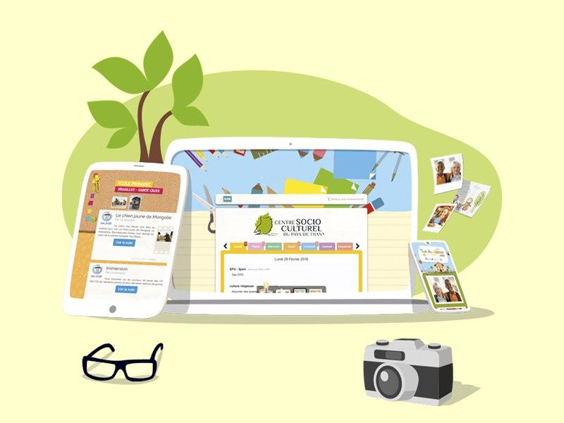 Un blog pour l'accueil de loisirs